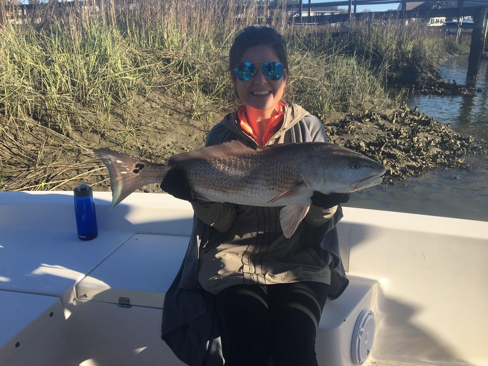 Charleston fishing inshore report 4 2 17 charleston deep for Deep sea fishing charters charleston sc