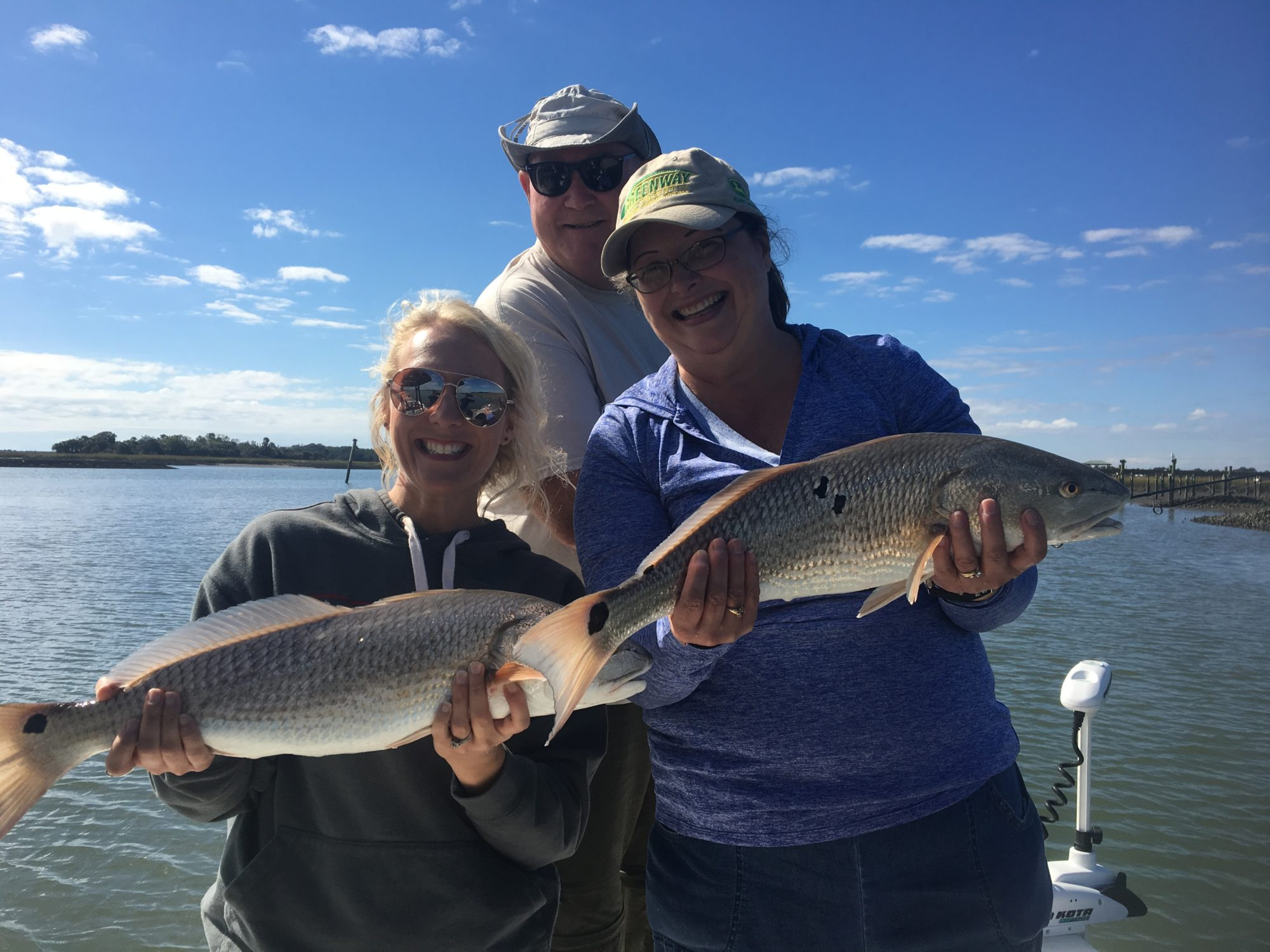 Charleston inshore and offshore fishing report for 11 27 for Deep sea fishing charters charleston sc
